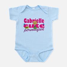 Cute Gabrielle Infant Bodysuit