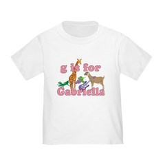 G is for Gabriella T