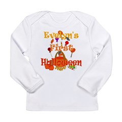 First Halloween Evelyn Long Sleeve Infant T-Shirt