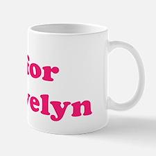 Baby Blocks Evelyn Mug
