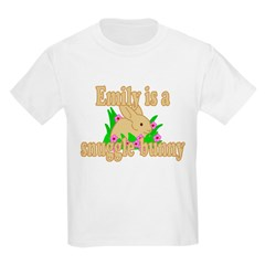 Emily is a Snuggle Bunny T-Shirt
