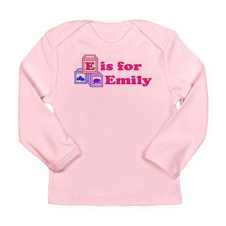 Baby Blocks Emily Long Sleeve Infant T-Shirt