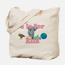 E is for Ella Tote Bag