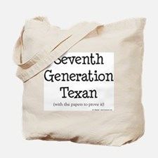 7th Generation Texan Tote Bag