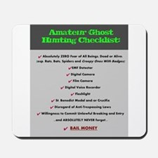 Paranormal Hobbyist Mousepad