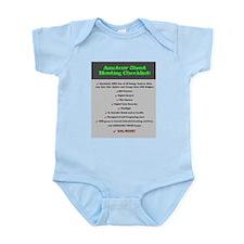Paranormal Hobbyist Infant Bodysuit