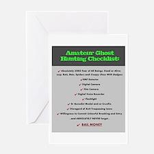 Paranormal Hobbyist Greeting Card