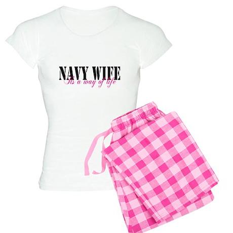 Navy Way of Life Women's Light Pajamas