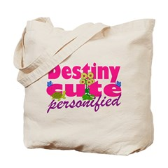 Cute Destiny Tote Bag