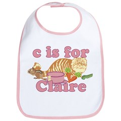 C is for Claire Bib