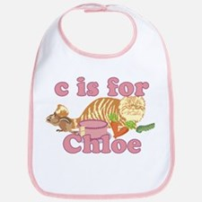C is for Chloe Bib