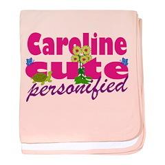 Cute Caroline baby blanket