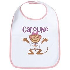 Little Monkey Caroline Bib