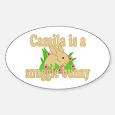 Camila is a Snuggle Bunny Decal