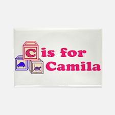 Baby Blocks Camila Rectangle Magnet