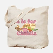 C is for Camila Tote Bag