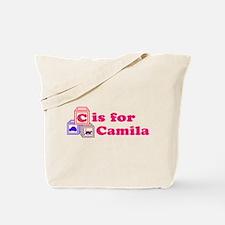 Baby Name Blocks - Camila Tote Bag