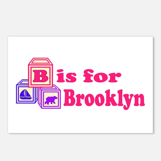 Baby Blocks Brooklyn Postcards (Package of 8)