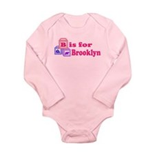 Baby Blocks Brooklyn Long Sleeve Infant Bodysuit