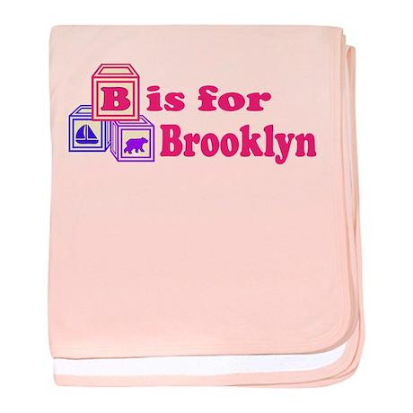 Baby Blocks Brooklyn baby blanket