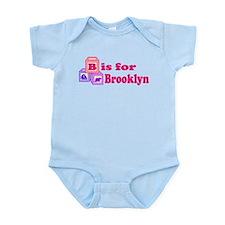 Baby Name Blocks - Brooklyn Onesie