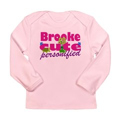 Cute Brooke Long Sleeve Infant T-Shirt