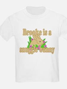Brooke is a Snuggle Bunny T-Shirt