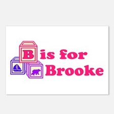 Baby Blocks Brooke Postcards (Package of 8)