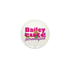 Cute Bailey Mini Button (100 pack)