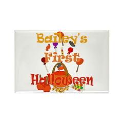First Halloween Bailey Rectangle Magnet