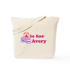 Baby Blocks Avery Tote Bag