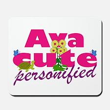 Cute Ava Mousepad