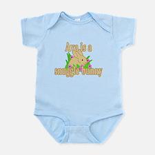 Ava is a Snuggle Bunny Infant Bodysuit