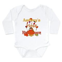 First Halloween Audrey Long Sleeve Infant Bodysuit