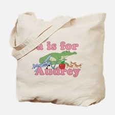 A is for Audrey Tote Bag