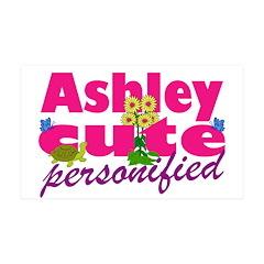 Cute Ashley 38.5 x 24.5 Wall Peel