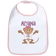 Little Monkey Ariana Bib