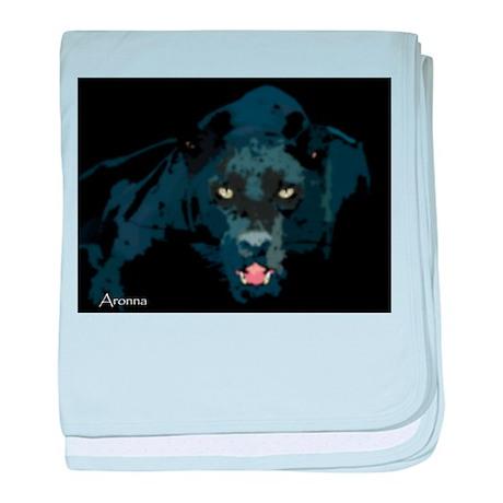 Black Panther baby blanket