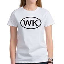 WK - Initial Oval Tee