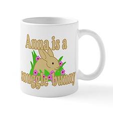 Anna is a Snuggle Bunny Mug