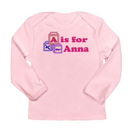 Baby Blocks Anna Long Sleeve Infant T-Shirt
