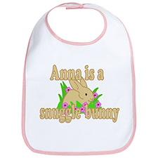 Anna is a Snuggle Bunny Bib