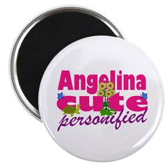 Cute Angelina Magnet