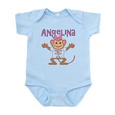 Little Monkey Angelina Infant Bodysuit