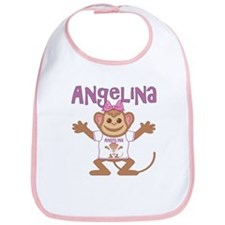 Little Monkey Angelina Bib