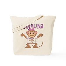 Little Monkey Angelina Tote Bag