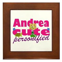 Cute Andrea Framed Tile