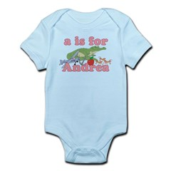 A is for Andrea Infant Bodysuit