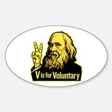 V is For Voluntary Decal