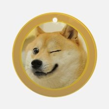 support buy me Ornament (Round)